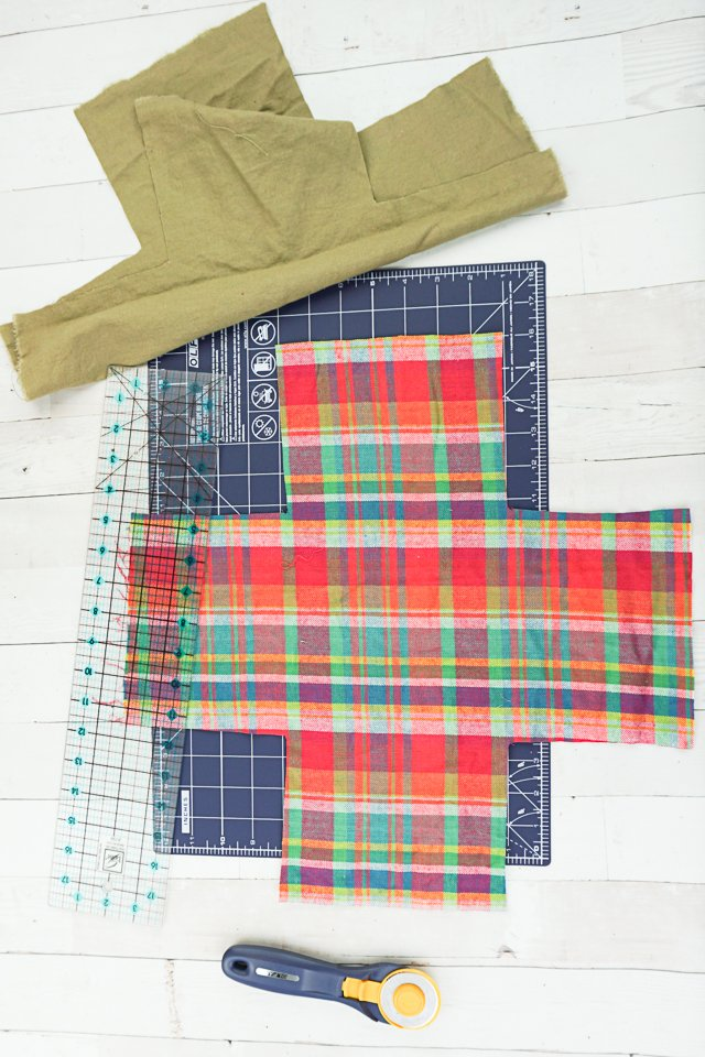 cut lining fabric