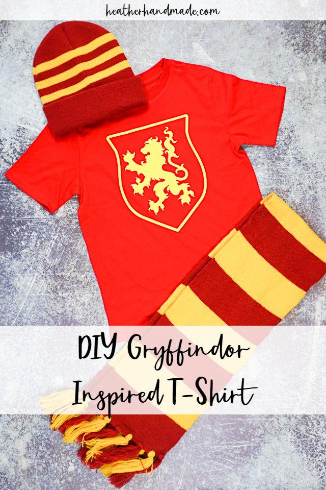 DIY Gryffindor Inspired T-Shirt