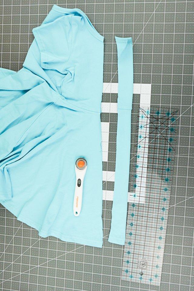 fold and cut center fold