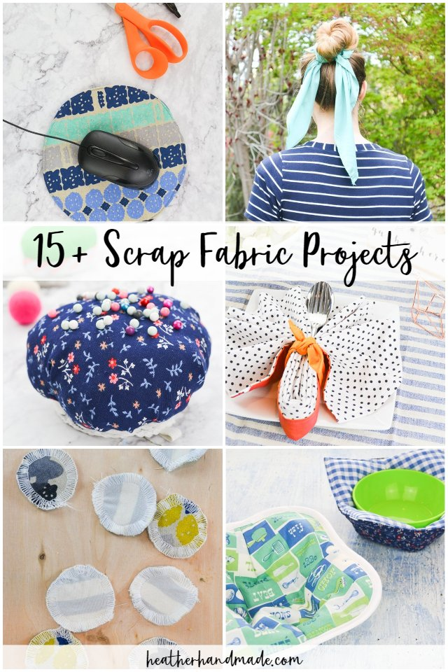 40 Scrap Fabric Sewing Projects