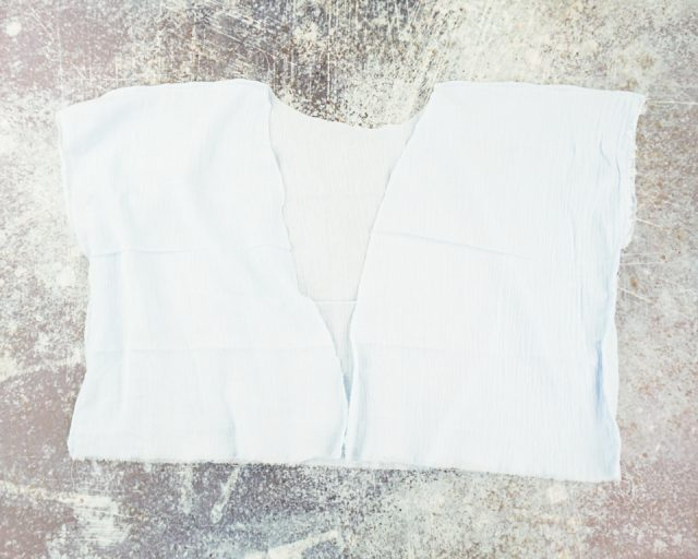 sew shoulders and sides