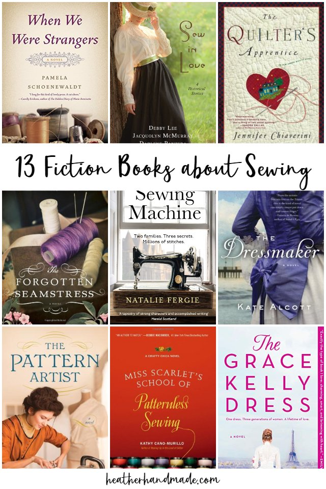13 Fiction Books about Sewing to Enjoy