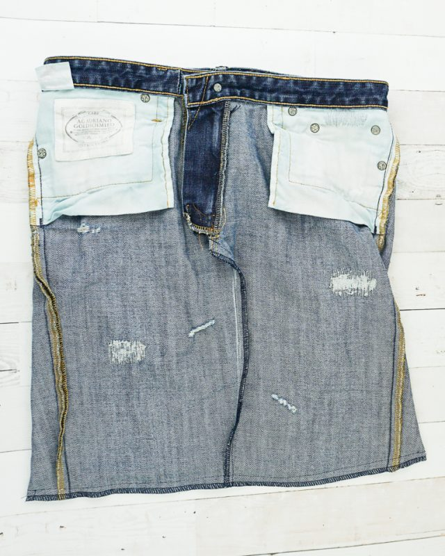 sew and finish edges
