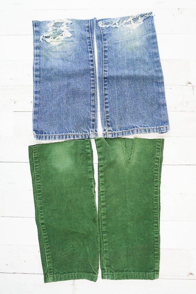 legs of jeans