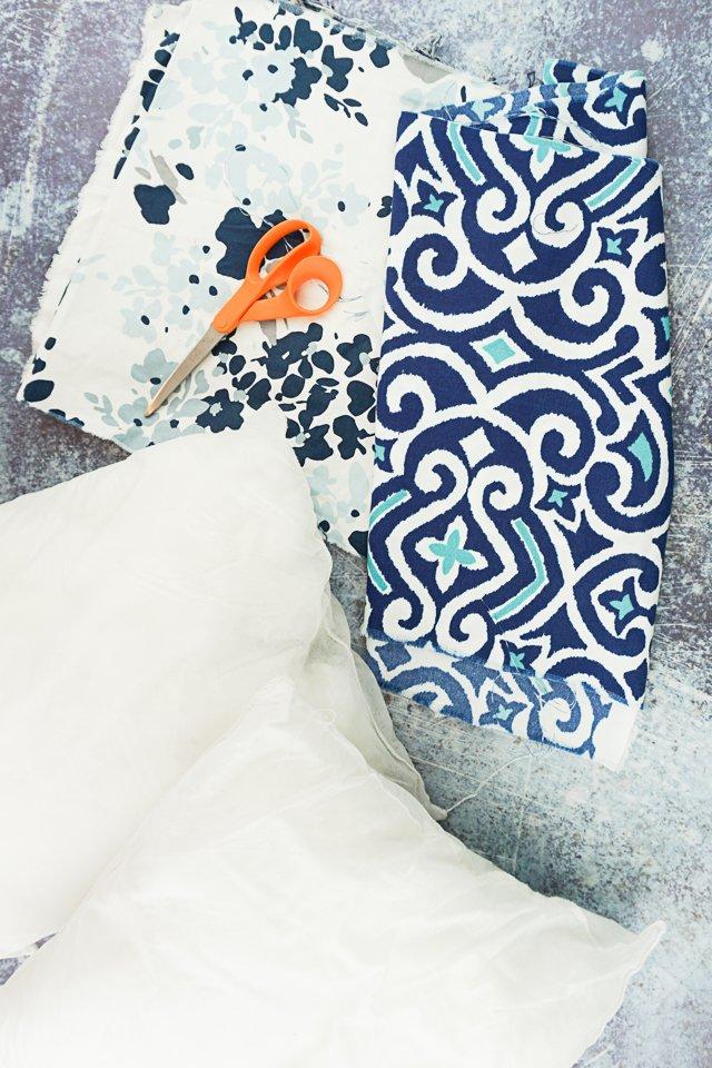 envelope pillow cover supplies