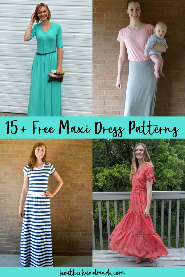 free maxi dress sewing patterns