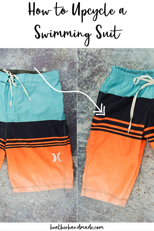 How to Upcycle a Swimming Suit