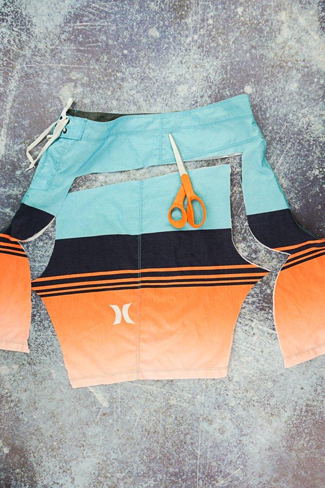 cut new swim trunks