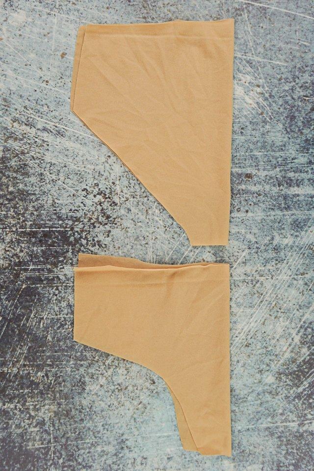 cut swim trunks liner