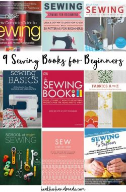 9 Sewing Books for Beginners