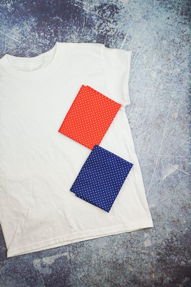 t-shirt applique supplies