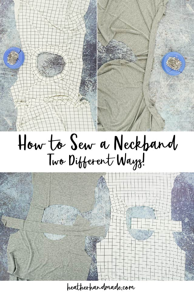 How to Sew a Neckband
