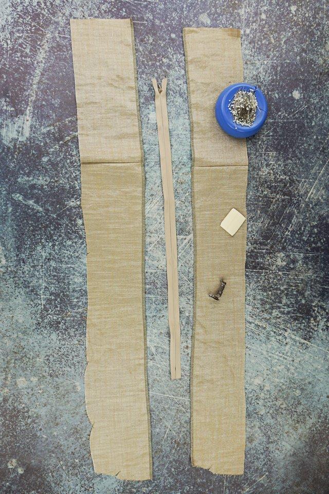invisible zipper supplies