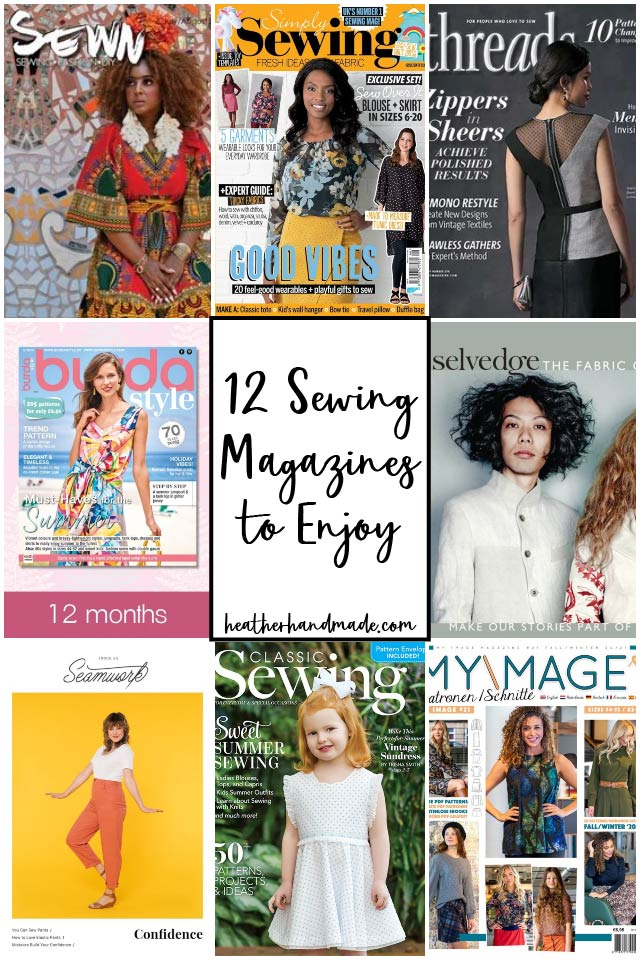 12 Sewing Magazines to Enjoy