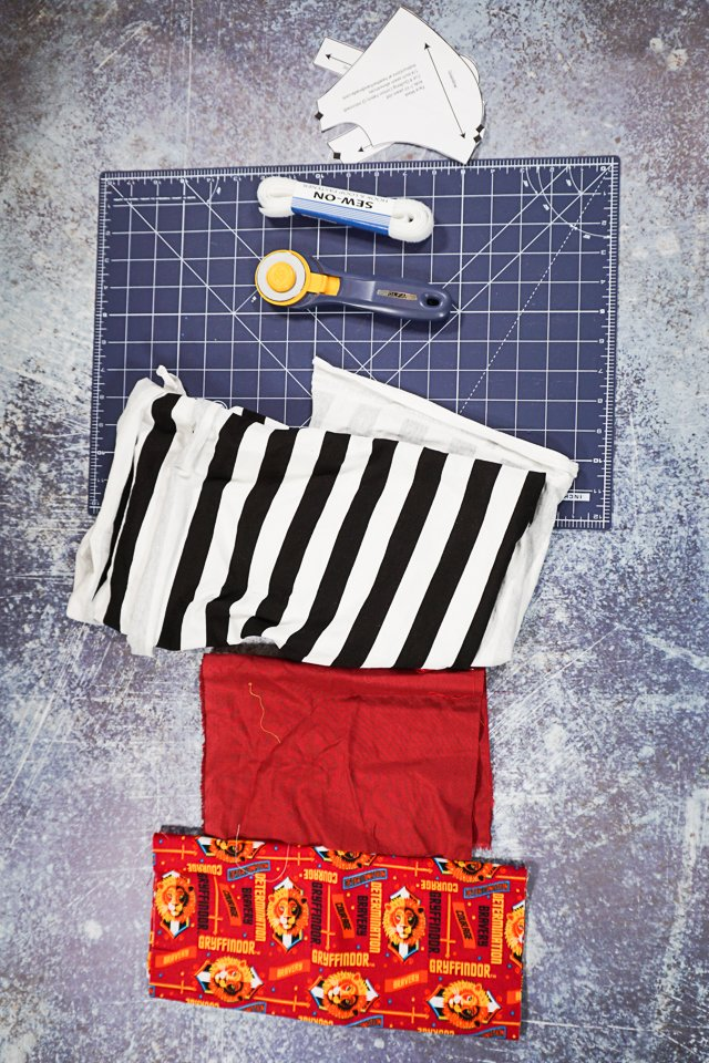 diy face mask sewing supplies