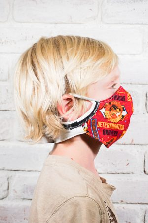 diy kid face mask free sewing pattern