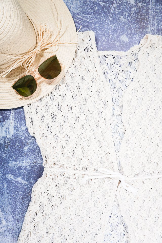 diy lace cover up