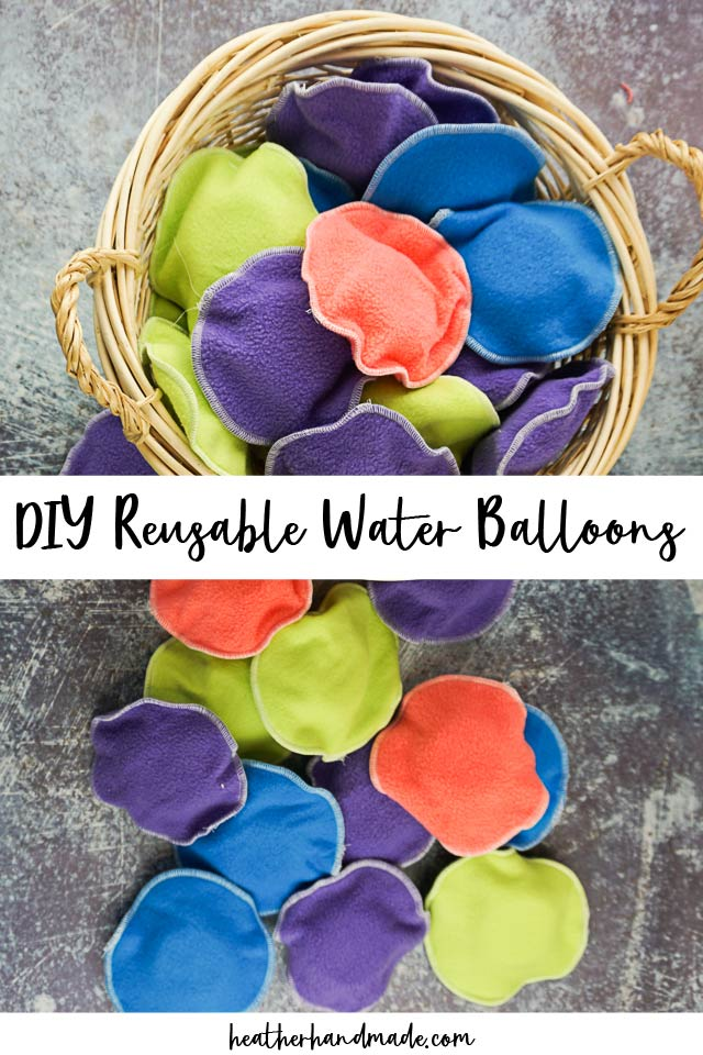 diy reusable water balloons