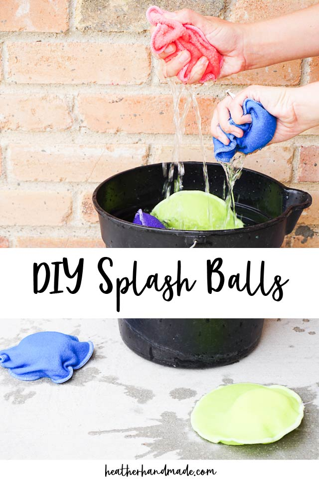 diy splash balls