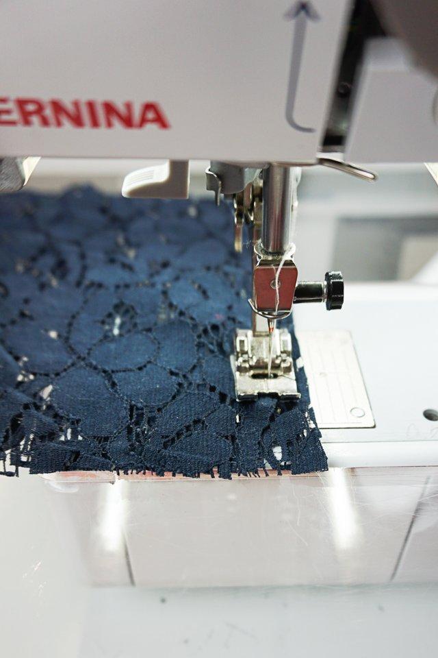 sew slowly