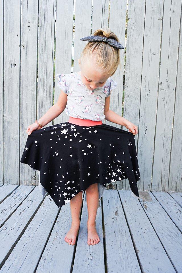 How to Make a Square Hem Circle Skirt