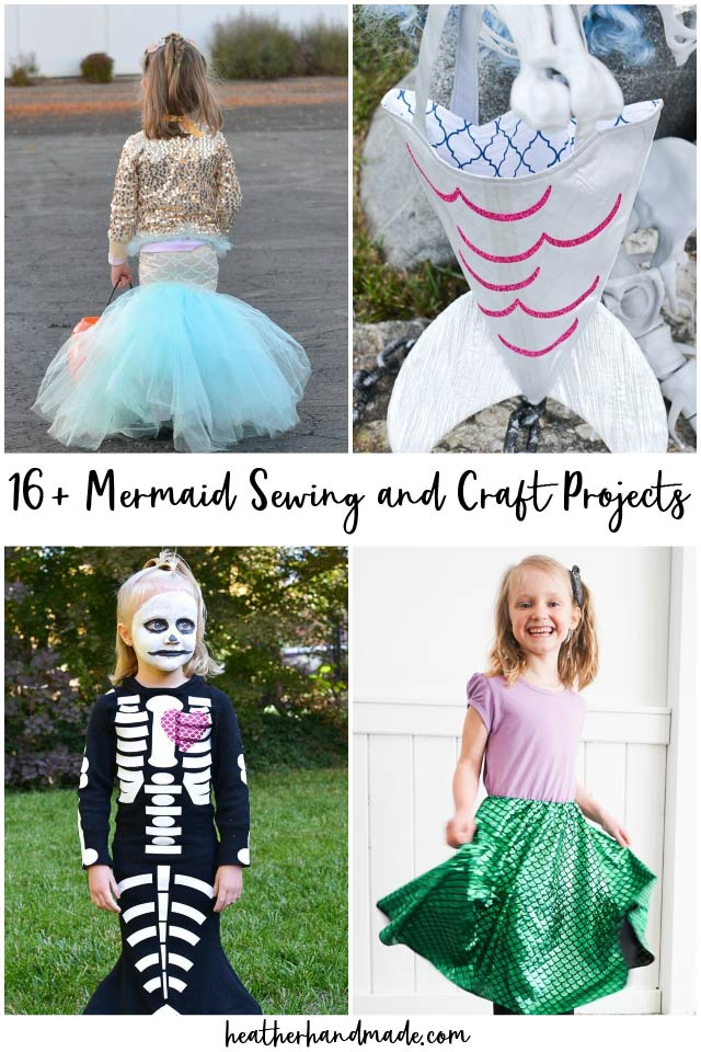 mermaid sewing projects