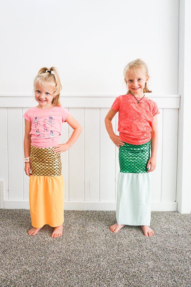 diy mermaid skirt