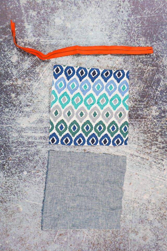 diy pencil pouch supplies
