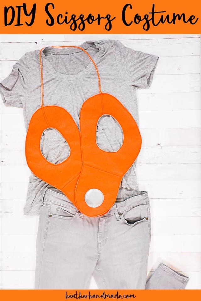 diy scissors costume