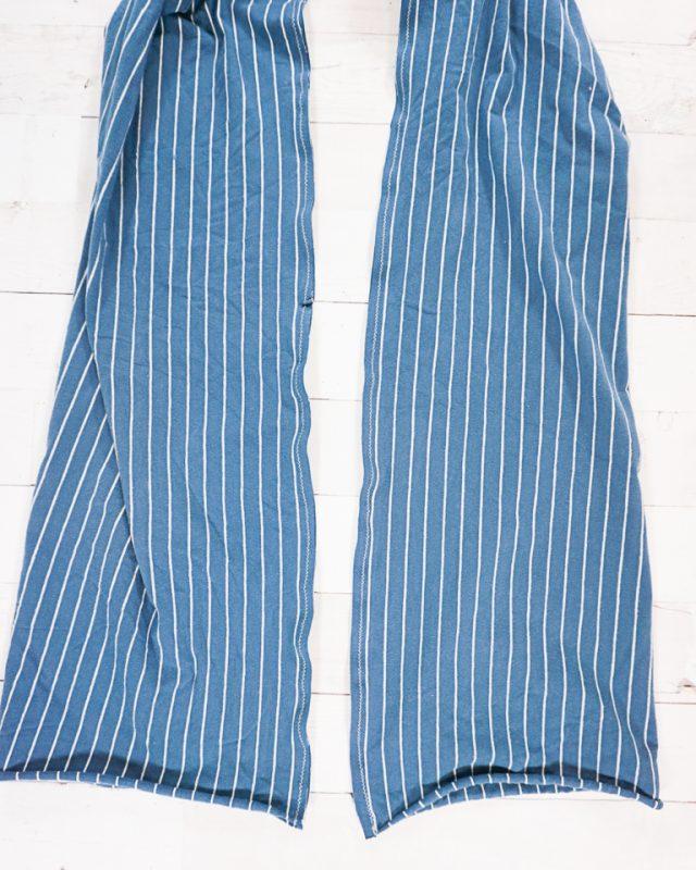 sew seams long side