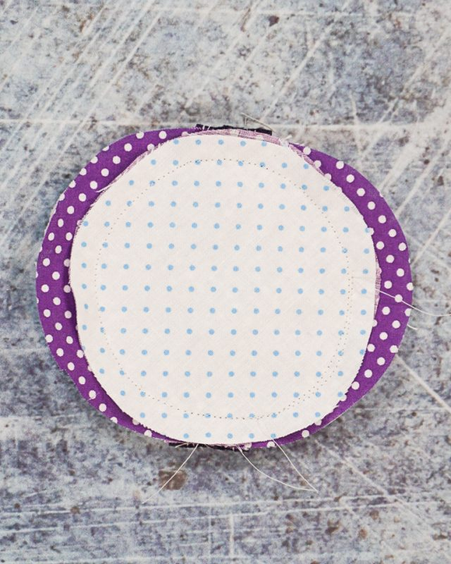 sew around circle