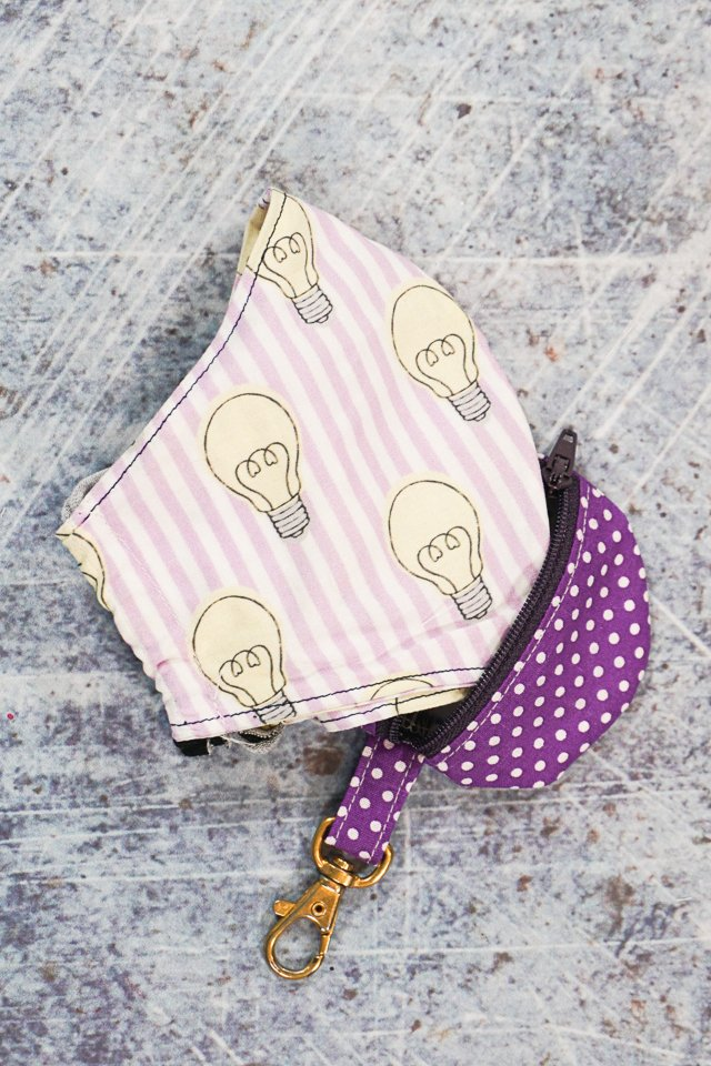 Small Zipper Pouch Tutorial