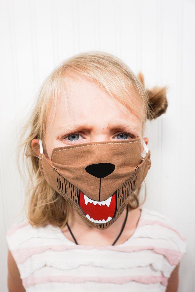 werewolf svg face mask