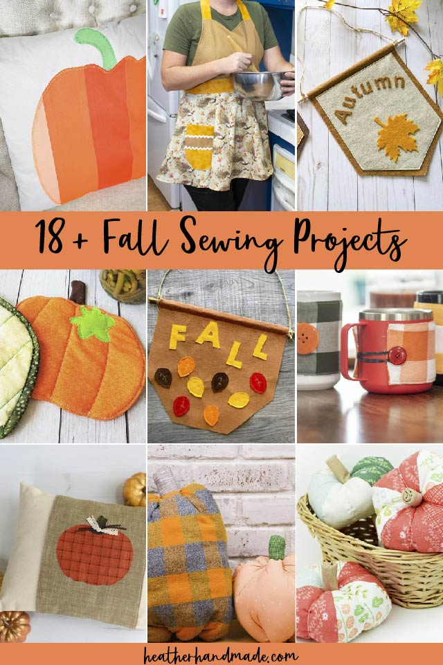 23 Fun Fall Sewing Projects