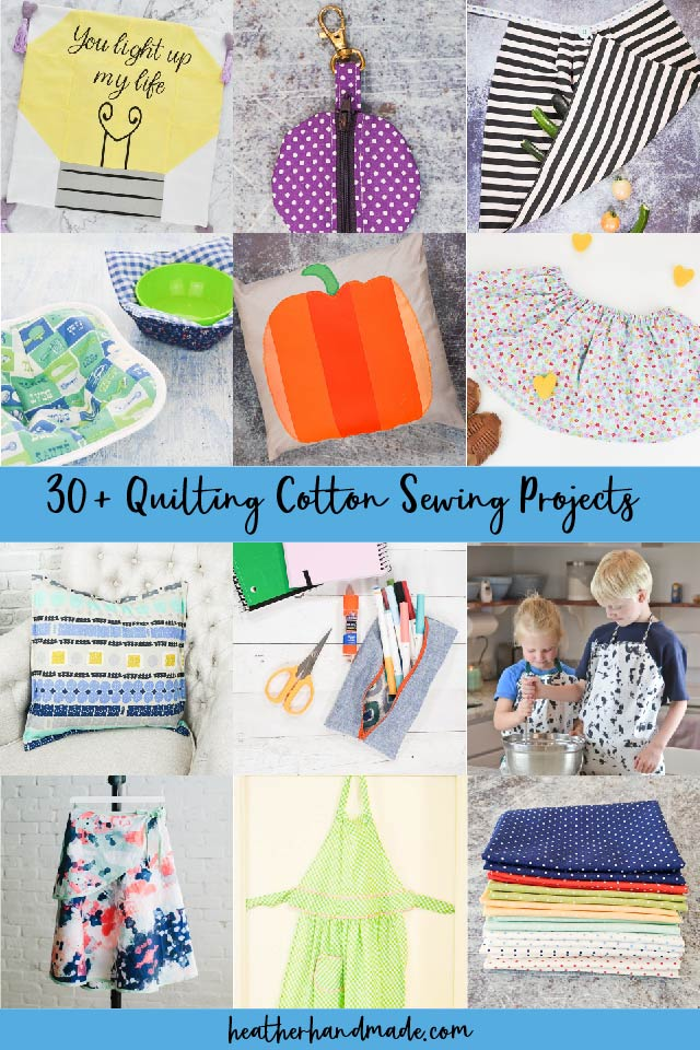 43 Quilting Cotton Sewing Projects