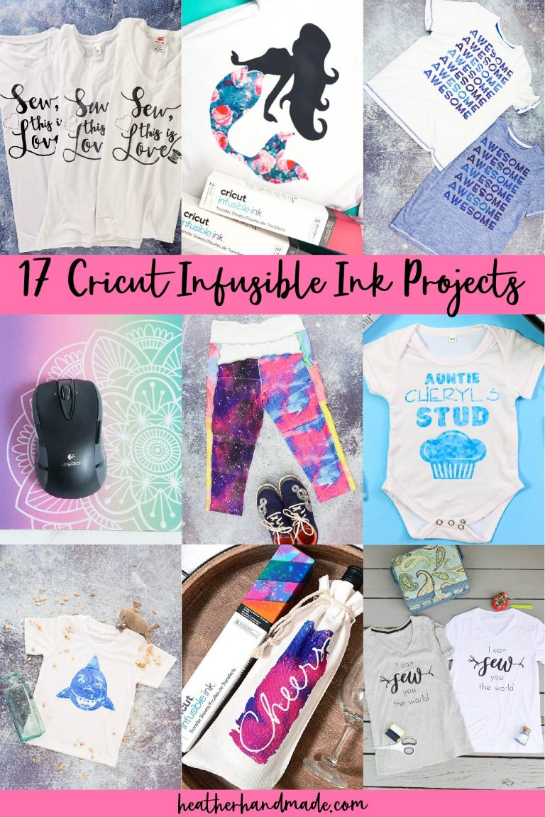 20 Cricut Infusible Ink Projects