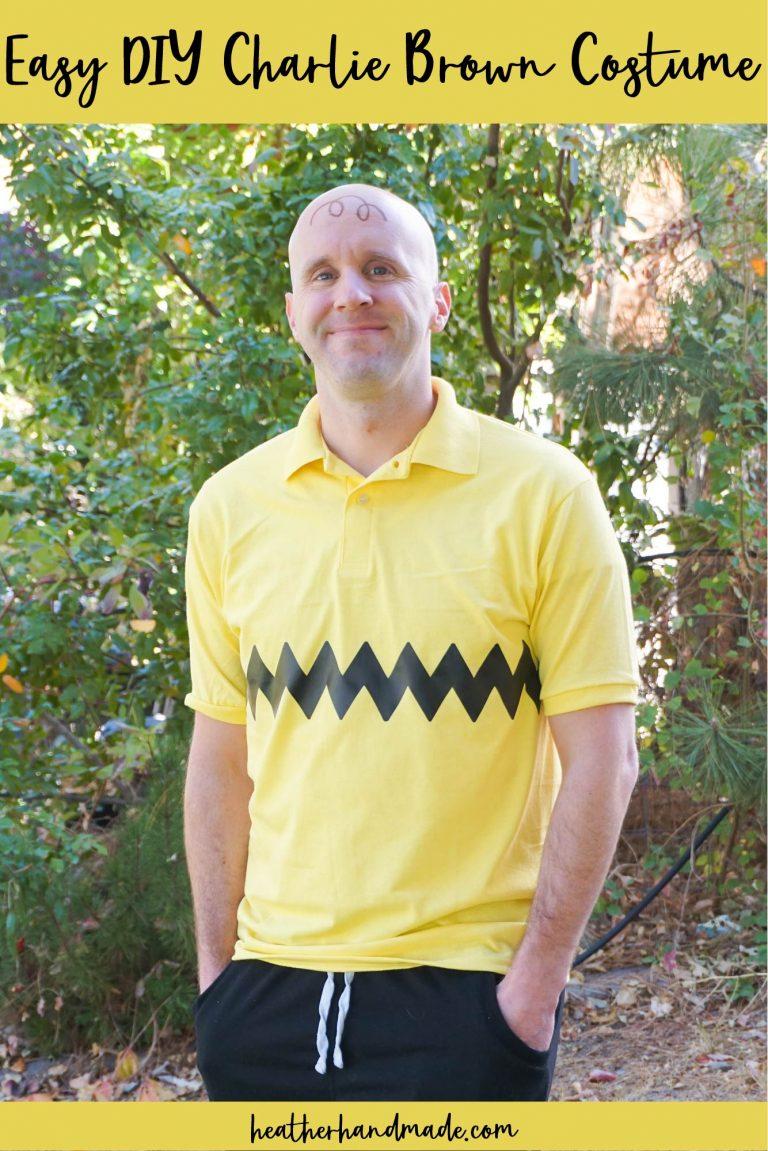 Easy DIY Charlie Brown Costume