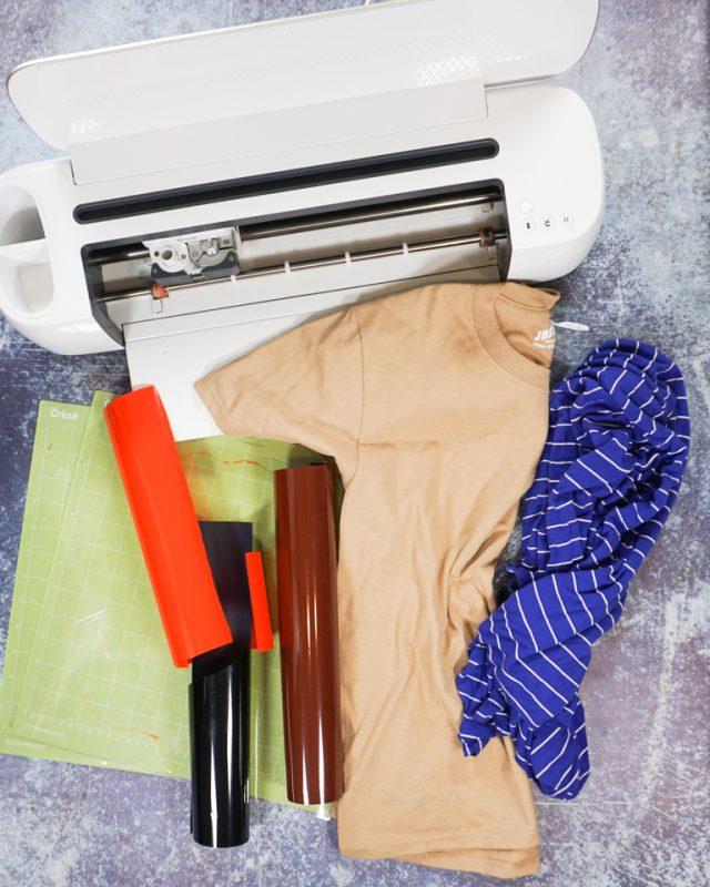 diy hercules costume t-shirt supplies