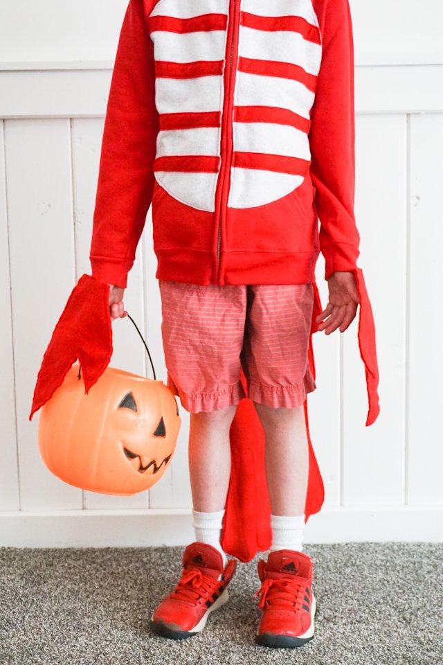 easy diy lobster costume