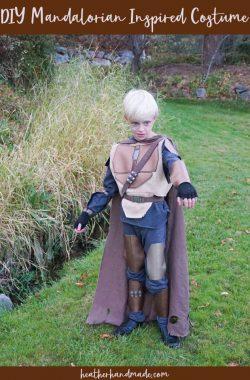 diy mandalorian inspired costume