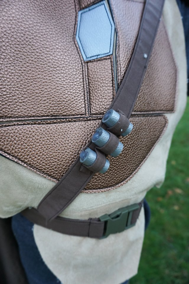 mandalorian belt and bullets