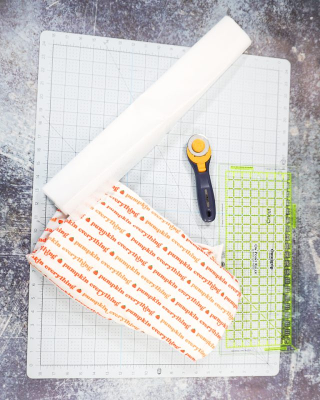 fall placemat supplies