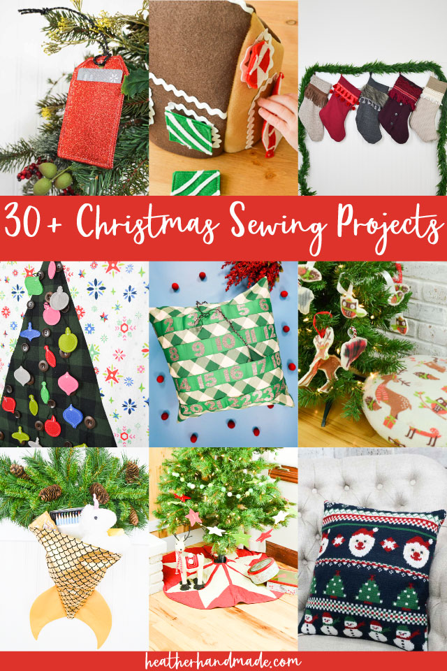 christmas sewing projects
