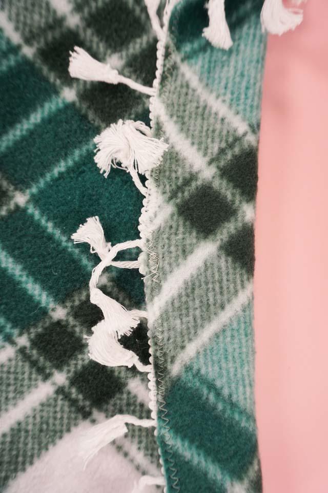 sew trim on with a zigzag