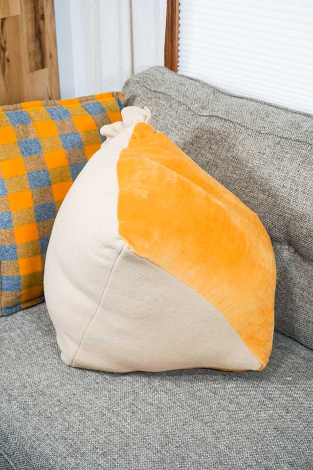 DIY Pumpkin Pie Pillow
