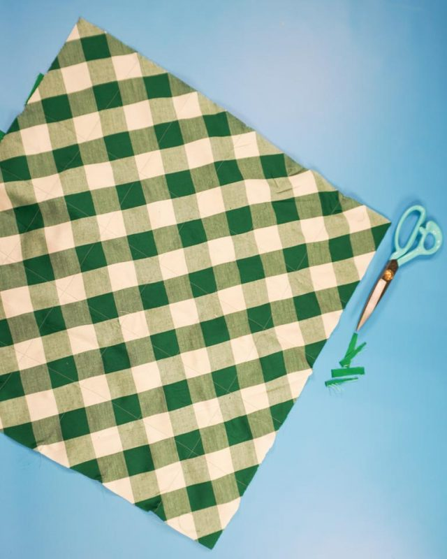 trim any ribbon excess