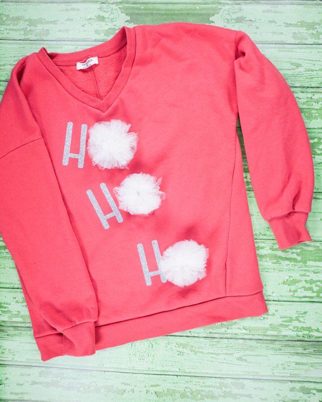 DIY Cute Ugly Christmas Sweater