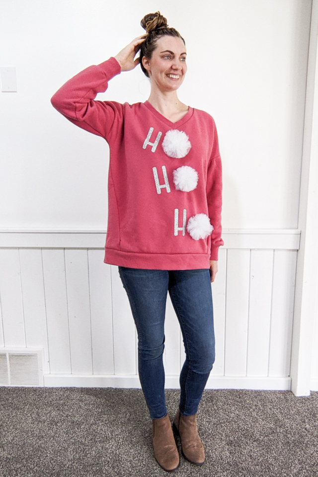 DIY Cute Ugly Christmas Sweater