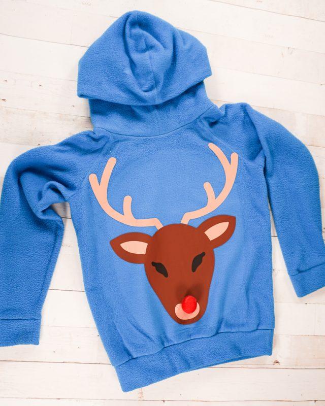 DIY Reindeer Ugly Christmas Sweater