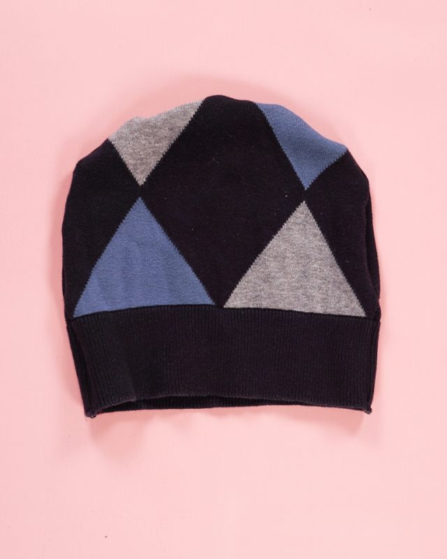 make hat from sweater